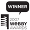 Winner - 2007 Webby Awards